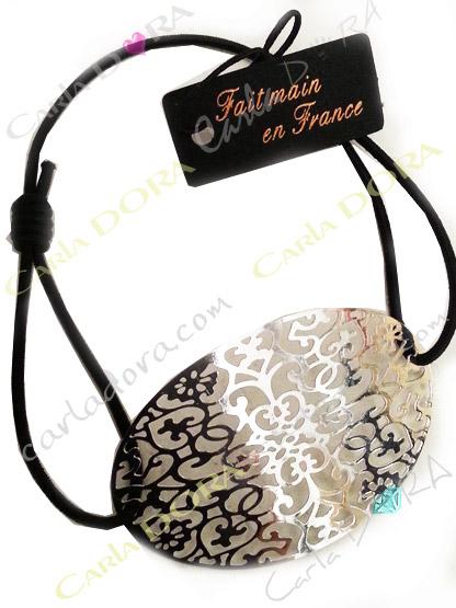 bracelet femme arabesque argent, bracelet fantaisie femme