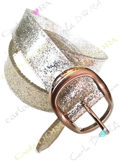 ceinture femme transparente vinyle plastique souple paillettes, ceinture tendance femme a la mode