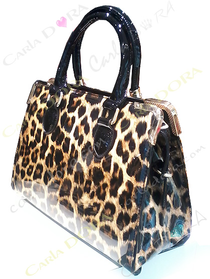 sac main leopard, sac a main femme motif panthere