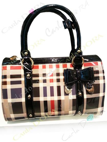 sac a main noeud papillon style ecossais, sac pour femme avec noeud papillon