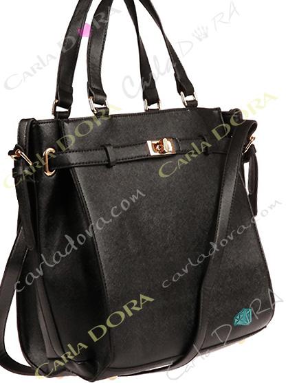 sac a main noir pour femme chic avec boucle doree