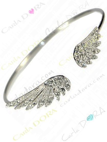 bracelet rigide aile d