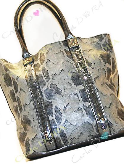 sac main femme python et paillettes sac shopping 2 en 1 porte epaule pour shopping sac a main porte main