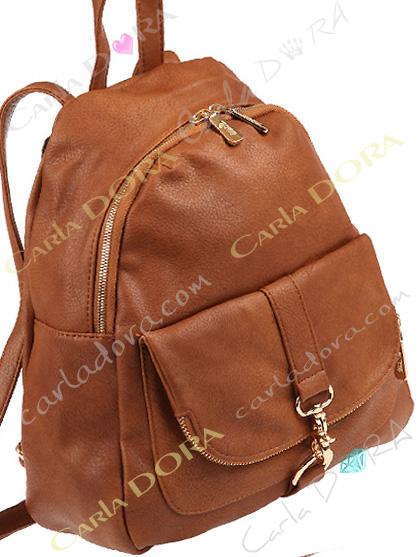 sac a dos camel pour femme mousqueton et zip argent sac pour femme tendance