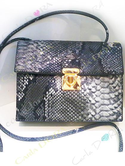 petit sac imprime serpent, petit sac imprime python