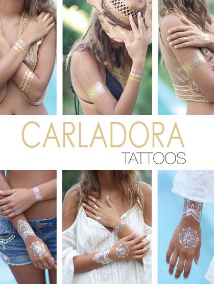 tatouage a coller sur la peau bijou de peau claire
