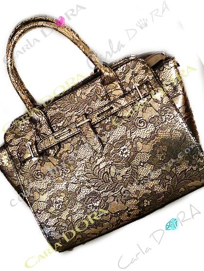 sac a main bronze imprime dentelle noire sac main bronze imprime dentelle
