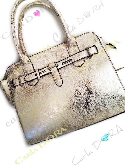 sac a main argent imprime dentelle blanche sac main dentelle