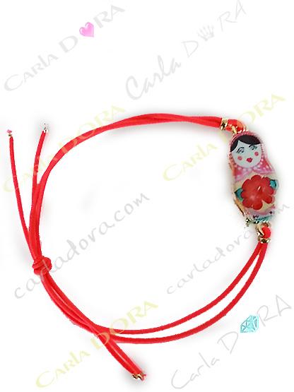 bijoux fantaisie femme bracelet poupee russe, bracelet fantaisie femme tendance