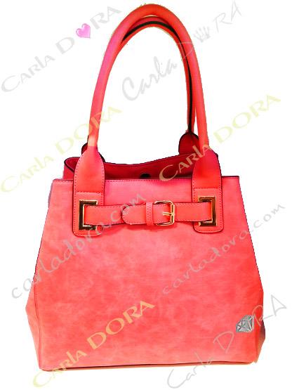 sac main femme tendance corail texture veloutee, sac femme tendance