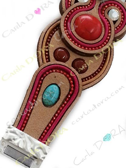 bijoux fantaisie bracelet femme hippie chic souple, bracelet fantaisie ethnique souple hippie chic femme