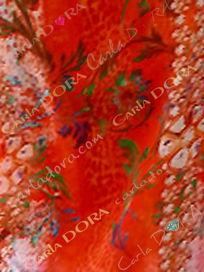 tunique femme manche courte couleur corail, top femme tunique manche courte