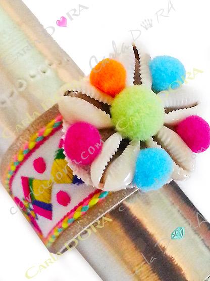 bracelet fantaisie tendance femme hippy chic, bijou fantaisie bracelet bresilien tendance multicolore