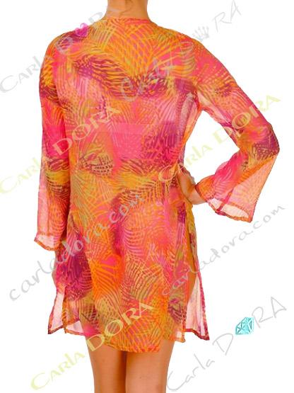 tunique femme fluide legere multicolore, top femme fluide tunique fashion plage