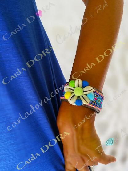 bracelet fantaisie femme boheme bleu, bijou fantaisie bracelet bracelet fantaisie femme boheme tendance bleu roi
