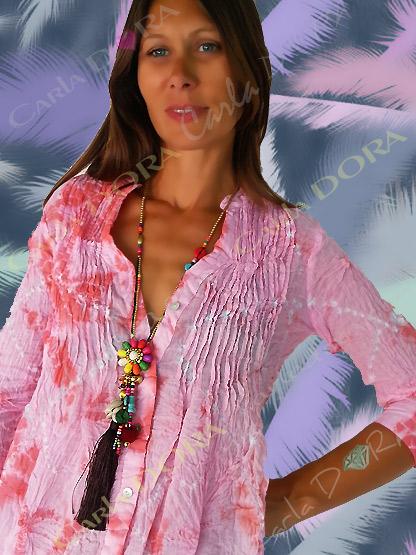 sautoir coquillages collier bijou fantaisie femme, collier femme tendance sautoir coquillage