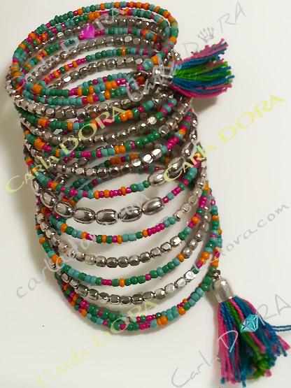 bracelet femme boheme chic multi rangs tourbillon ,bracelet tendance femme