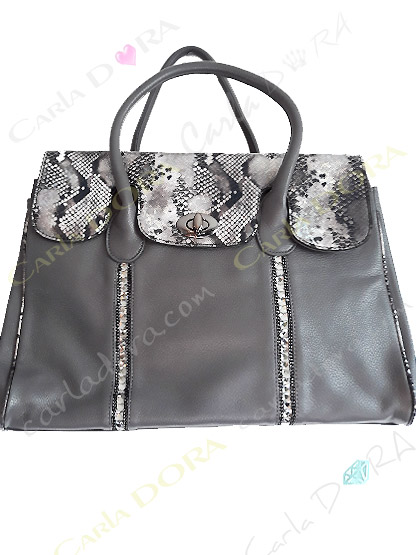 sac main femme gris cabas shopping python irise strass noir sac porte epaule sac a main femme
