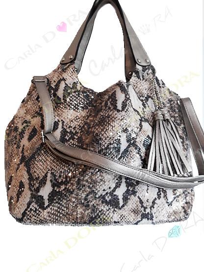sac main femme python paillettes simili cuir sac shopping 2 en 1 porte epaule pour shopping sac a main porte main