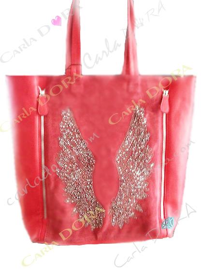 sac shopping femme avec ailes d
