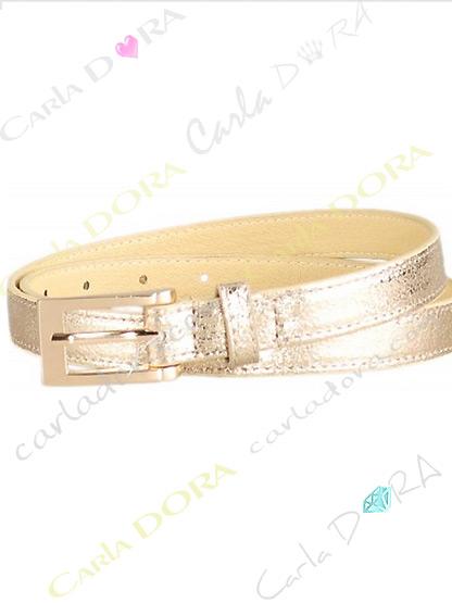 ceinture doree fine pour femme, ceinture doree femme couleur or a boucle doree