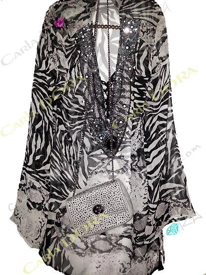 tunique femme tendance tigre blanc zebree noire jungle, tunique fashion top femme fashion a la mode