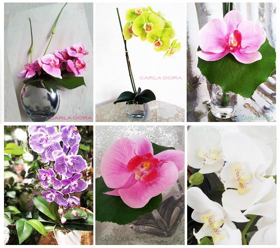 Mariage en normandie fleurs orchid es artificielles pour d coration salle - Fleurs artificielles pour mariage ...